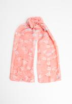 Joy Collectables - Printed scarf - peach