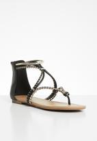 Call It Spring - Jelles braided sandal - black