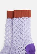 Hysteria - Cesca multi crew socks - multi