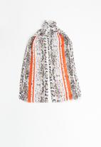 Superbalist - Light weight snakeskin scarf - multi
