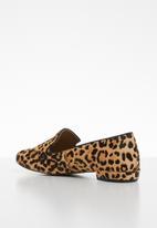 Steve Madden - Smile leather loafer - black & brown