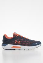 Under Armour - UA w charged rogue - downpour gray & coral dust