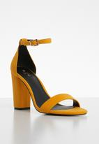 Call It Spring - Ankle strap heel - yellow