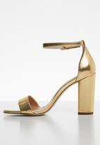 Call It Spring - Ankle strap heel - gold
