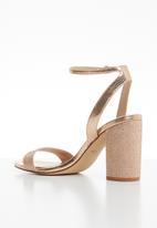 ALDO - Rhinestone embellished heel - pink