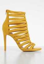 ALDO - Caged heel - yellow