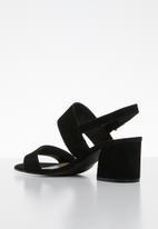 ALDO - Arievia suede heel - black