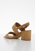 ALDO - Slingback heel - brown