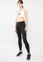 adidas Performance - All me badges of sports bra - white