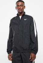 Reebok Classic - Cl track jacket - black & white