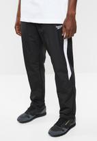 Reebok Classic - Cl track pants - black & white