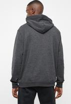 Hurley - Surf check one & only pop hoodie - charcoal