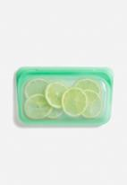 Stasher - Reusable silicone snack bag - mint