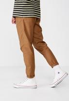 Cotton On - Oxford trouser - tan