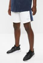 Cotton On - Crossover short - white & navy