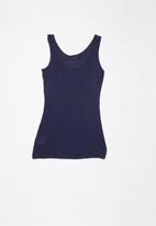 POP CANDY - Big girls sequin vest - navy