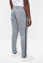 Only & Sons - Gerhard check antifit  pants - blue & grey