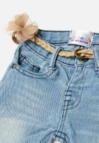 POP CANDY - Babys denim pants - blue