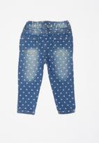 POP CANDY - Babys denim pants - blue