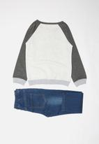 POP CANDY - Two piece set - blue & grey