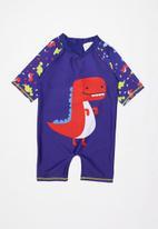 POP CANDY - Boys dinosaur one piece - multi