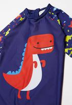 POP CANDY - Boys dinosaur one piece - multi
