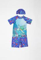 POP CANDY - Printed turtle 3 piece swimsuit - multi