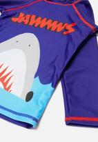 POP CANDY - Printed shark 2 piece swimsuit - multi