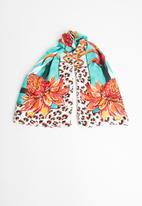 ALDO - Nilissa shawl -  turquoise
