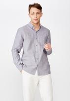 Cotton On - Premium long sleeve shirt - grey