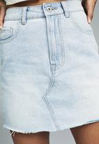 Cotton On - The classic denim skirt - blue