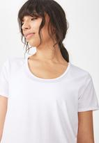 Cotton On - Gym T-shirt - white