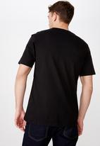 Cotton On - Tbar collab short sleeve tee - black