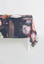 Hertex Fabrics - Francine table cloth - moody