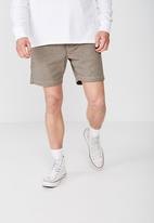 Cotton On - Street volley shorts - beige & brown