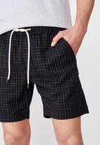 Cotton On - Street volley shorts - grey & black