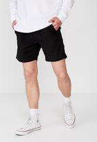 Cotton On - Street volley shorts - black