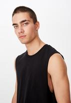Cotton On - Essential muscle tank - black