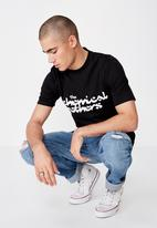 Cotton On - The chemical brothers tee - black
