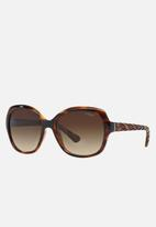 Vogue - Oversized sunglasses - brown & black
