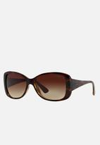 Vogue - Light & shine butterfly sunglasses - brown