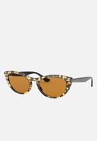 Ray-Ban - Nina sunglasses - yellow & brown