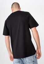 Cotton On - Tbar art T-shirt - black