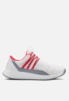 Under Armour - UA w breathe lace - white, blue heights & beta red