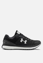 Under Armour - UA charged europa 2 - black & white