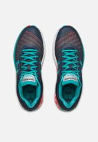 Under Armour - UA charged europa 2 - wire white & teal rush