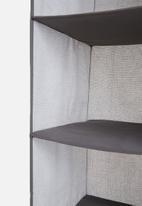 Sixth Floor - 5 tier storage hanger - grey