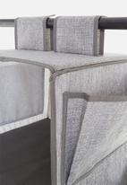 Sixth Floor - 3 tier storage hanger - grey