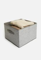 Sixth Floor - Collapsible storage box - grey