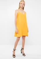 Superbalist - Chiffon strappy dress - yellow